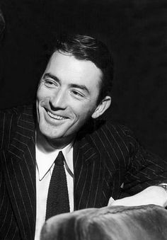 Gregory Peck, c. late 1940s, so handsome, love his smile!