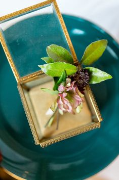 Hellebores, burgundy scabiosa and foraged greenery were used to make this simple boutonniere, as displayed in my grandmother's vintage brass jewelry box! DIY wedding flowers for the creative bride with FloraCulture Flowers. Budget Wedding Flowers, Wedding Flower Arrangements, Floral Arrangements, Brass Jewelry, Jewelry Box, Scabiosa Flowers, Burgundy Wedding Colors, Different Flowers, Bride Look