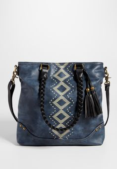 On my wish list #wishpinwinsweepstakes #discovermaurices ******************************* satchel with ethnic print front and braided straps