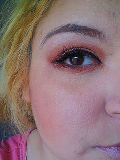 Bloggerwithsmile : Orange Bronze Eye makeup