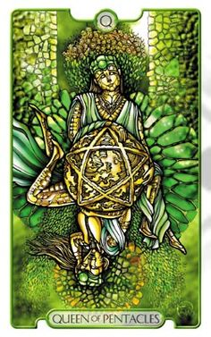 Revelations Tarot Queen of Pentacles - Pesquisa do Google
