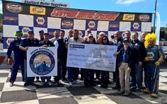 NAPA & fans at Stafford Speedway Track Walk for heroes #IntrepidFallenHeroesFund