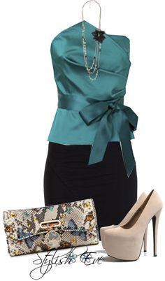 Bridal Guest - Teal Satin ▶suggested by ~Sophistic Flair~