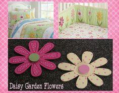 M2M Pottery Barn Kids Daisy Garden Wall Flower Shapes Kids Room Decor