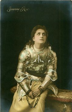 French postcard of Jeanne d'Arc (1907)