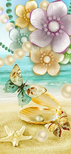 Bling Wallpaper, Cover Wallpaper, Summer Wallpaper, Beach Wallpaper, Images Wallpaper, Cute Wallpapers, Wallpaper Backgrounds, Iphone Backgrounds, Beautiful Flowers Pictures