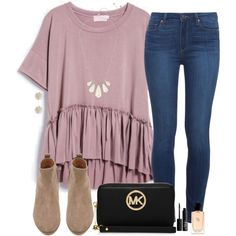 currently designing my schools yearbook wbu? by madiweeksss on Polyvore featuring polyvore, fashion, style, Paige Denim, Witchery, MICHAEL Michael Kors, Kendra Scott, Sole Society, NARS Cosmetics and Giorgio Armani