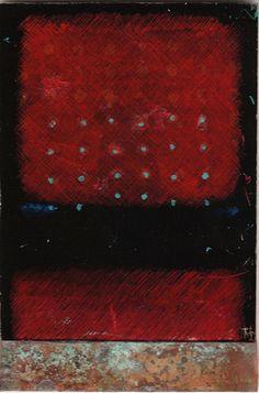 takahikohayashi:    D-4.Dec.2009reverse painting on glass 林孝彦 HAYASHI Takahiko 2009