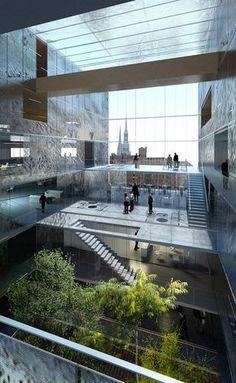 Magdeburger Hafen, HafenCity Hamburg   LAN Architecture   Archinect
