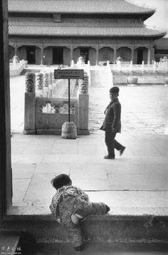 Marc Riboud. Beijing 1957