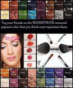 Pigment Game, tag your friends!  www.facebook.com/angelasyouniquelashes OR www.youniqueproducts.com/angelaphelps