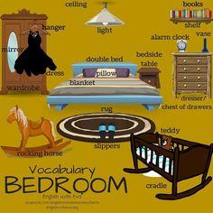VOCABULARY – BEDROOM