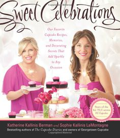 Sweet Celebrations  Our Favorite Cupcake Recipes, Memories, and Decorating Secrets That Add Sparkle to Any Occasion  Berman, Katherine Kallinis (Book - 2012) * * * Celebrate with cupcakes! Birthdays, cocktail parties, weddings, bridal showers, picnics, or low-key get-togethers with your friends-all occasions should be topped off with a cupcake! In this delectable book, sisters and stars of the hit TLC series DC Cupcakes serve up more than fifty recipes for every celebratory occasion.