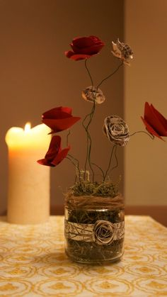A great idea for a thrifty valentines day...and an amazing blog! foolishforlight.com
