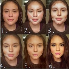 10 Mind Blowing Examples Of Makeup Contouring Transformations No PhotoShop Needed
