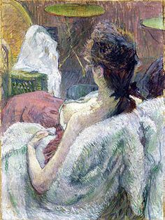 Model Resting by Toulouse Lautrec