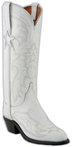 Ladies Lucchese NFL Dallas Cowboys Cheerleaders Replica Cowgirl Boots NV4009