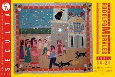 """Festival Rodolfo Morales en Oaxaca [del 14 al 21 de abril 2013] Este año el festival tendrá como eje estratégico la difusión de la obra de Rodolfo Morales entre la niñez y juventud del estado, enfocando gran parte de las actividades a la comunidad infantil, con el fin de dar a conocer entre las nuevas generaciones la labor artística, social y filantrópica de uno de los personajes que ha definido el perfil artístico de Oaxaca."""""""