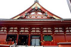 Temple asakusa japan