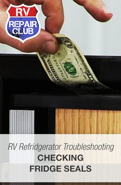 RV refrigerator troubleshooting begins with checking the unit's seals to make sure they've been installed correctly and they haven't started to lose their grip. With proper sealing of your RV refrigerator and freezer doors, you can better guarantee that your unit is capable of running at maximum efficiency.