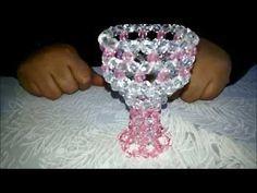 طريقة عمل بونبينيرة كأس _ مريم عثمان   How to make a cup of beads - YouTube