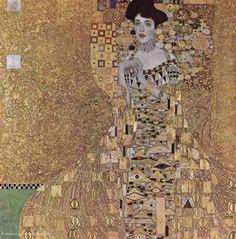Gustav Klimt: Portraet der Adele Bloch Bauer