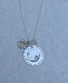 I'm In Love With An Irish Wolfhound Necklace by RoxysCreations