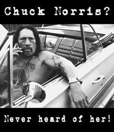 Chuck Norris?
