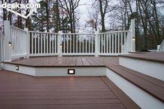 multi level deck designs | Multi Level Deck Picture Gallery