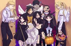 25 Staggering Anime Illustrations to Motivate You This Halloween
