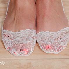 Buy Socks for Flats. Lace Heels Socks, Toe Socks, Flats Lace Short Socks, Girly Lace Socks, Short Fashion Sock, Women's Floral All Lace Sock by Stay Warm in Style on OpenSky