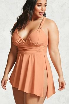 a012b2ce3c 18 Plus-Size Swimsuits That ll Turn Heads At The Beach Curvy Bikini