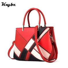 Cheap designer messenger bag, Buy Quality messenger bag directly from China  bag soft Suppliers  KXYBZ Luxury Designer Women Handbag Fashion Patchwork  Hit ... 1f2bd70bbf