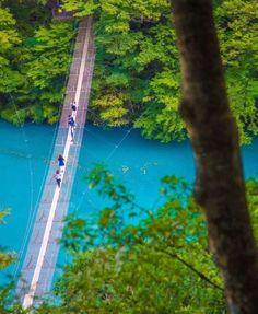 """""""日本一渡りたい""""大自然の絶景橋!ネットで話題の「夢の吊り橋」とは 8枚目の画像"""
