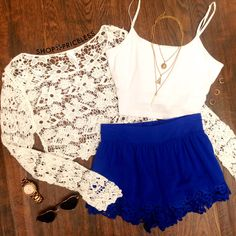 Eve Lace Crop Top - White #ShopPriceless