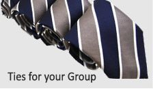 $15 ties.  Awesome website for ties, especially for groups. Ordered all of our grooms men's ties from here.