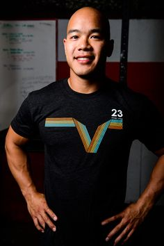 Men's Oly Stripes - Vintage Black/Orange/Blue/Yellow – V23 Athletics | Crossfit Shirts | Clothing | Apparel