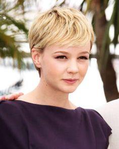 13 short hair katieholmes - Hollywood Hairstyles – Short Hair - Elle