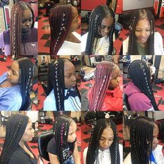 Tribal braids 😍😍 _________ Natural Hair bites are snippets of news and Fashion collected from around the web gathered for our community. Black Hairstyles With Weave, Black Girls Hairstyles, Weave Hairstyles, Protective Hairstyles, Protective Styles, Natural Hair Tips, Natural Hair Styles, Bts Hairstyle, Rainbow Braids