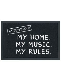 Ovimatto - Attention! My home. My music. My rules. -13,99e