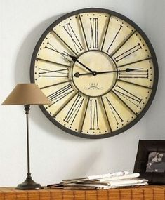 Wall Decoration: Antique Wall Clock for Vintage Interior Ideas. Cool Wall Decorations For Kids Room. Very Artistic And Futuristic Wall Sticker Decoration Ideas. Unusual Clocks, Unique Wall Clocks, Contemporary Clocks, Modern Contemporary, Modern Wall, Living Room Clocks, Steampunk Clock, Clocks For Sale, Wall Clock Design