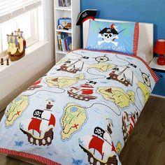 Treasure Quest Childrens/Boys Single Duvet Cover Bedding Set (Twin) (Multicolored): Amazon.ca: Home & Kitchen