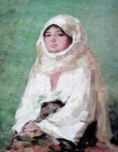 Nicolae Grigorescu - paintings-Peasant from Muscel Valley. Human Pictures, Modern Art Paintings, High Art, Famous Artists, Online Art Gallery, Installation Art, Female Art, Painting & Drawing, Street Art