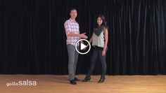 Now it's time to start using your basic salsa steps while dancing with a partner. In this lesson, David Stein and Jennifer Stein of Majesty in Motion will show you a combination of basic salsa steps and how to lead and follow them with your partner. Check out this video lesson for some good beginner tips and techniques that will help you get start salsa dancing right away. Group Dance, Partner Dance, Dance Class, Teach Dance, Learn To Dance, Salsa Dance Lessons, Different Types Of People, Learning Methods, Salsa Dancing