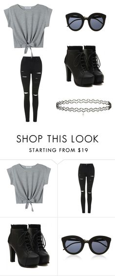 """""""Untitled #2"""" by francescam3101 ❤ liked on Polyvore featuring Topshop"""