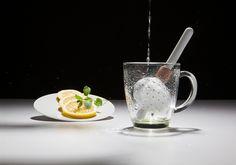 °°°porcelain tea infuser TeeTä on Behance