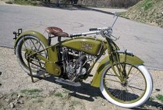 1918 Excelsior Henderson V-Twin - Yep, a V-Twin. Could have been yours recently for only $30,000.