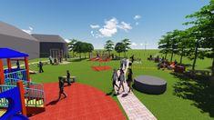 Baseball Field, Basketball Court, Sports, Hs Sports, Sport