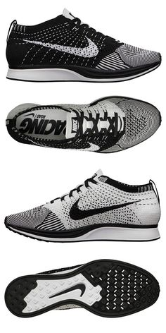 nike sneakers coming your way amazing trainers black and white Me Too Shoes, Men's Shoes, Shoes Sneakers, Sports Illustrated, Sports Challenge, Nike Flyknit Racer, Street Style Shoes, Fashion Shoes, Mens Fashion
