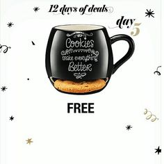 Get FREE Milk & Cookie Mug with your $45+ order when you use Promo Code: COOKIE at www.youravon.com/jantunes. #freeAvon #milkandcookies #snacktime